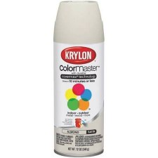 Krylon Indoor/Outdoor 12oz Spray Paint- Satin, Almond