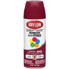 ColorMaster In/Out 12oz Gloss Spray Paint- Burgundy
