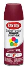 Krylon Indoor/Outdoor 12oz Spray Paint- Satin, Burgundy