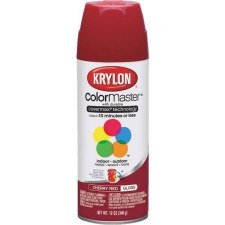 ColorMaster In/Out 12oz Gloss Spray Paint- Cherry Red