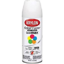 ColorMaster In/Out 12oz Gloss Spray Paint- White