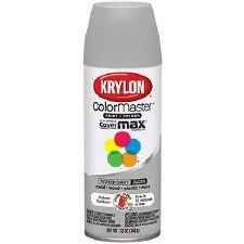 ColorMaster In/Out 12oz Gloss Spray Paint- Pewter Gray