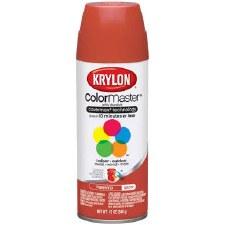 Krylon Indoor/Outdoor 12oz Spray Paint- Satin, Pimento