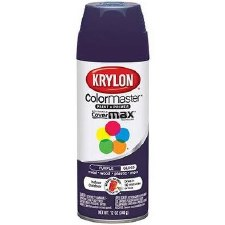 ColorMaster In/ Out 12oz Gloss Spray Paint- Purple