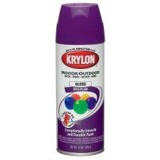 ColorMaster In/Out 12oz Gloss Spray Paint- Rich Plum