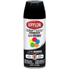 Krylon Indoor/Outdoor 12oz Spray Paint- Semi-Gloss, Black