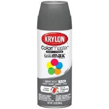 ColorMaster In/Out 12oz Gloss Spray Paint- Smoke Gray