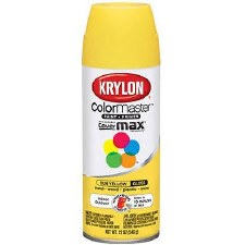 ColorMaster In/Out 12oz Gloss Spray Paint- Sun Yellow