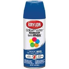 ColorMaster In/Out 12oz Gloss Spray Paint- True Blue