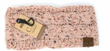 CC Knit Headwrap- India Pink