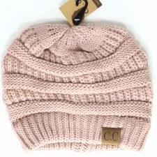 CC Knit Beanie- Indie Pink