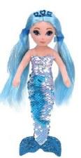 Beanie Flippable Sequin Collection, Medium- Mermaid, Indigo