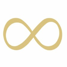 """Infinity Symbol MDF Cut Out- 12"""""""