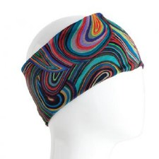 Infinity Bandana- Coloful Swirls