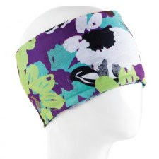 Infinity Bandana- Purple Flowers