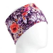 Infinity Bandana- Purple Floral Tones