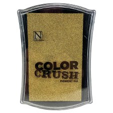 Color Crush Pigment Ink Pad- Gold