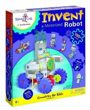 Creativity for Kids Craft Kit- Invent a Motorized Robot
