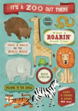 Cardstock Stickers- It's a Zoo