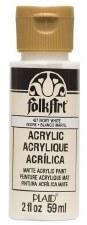 FolkArt 2 Oz. Acrylic Paint- Ivory White