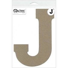 """8"""" Chipboard Letter- J"""