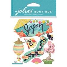 Jolee's Travel Dimensional Stickers- Japan