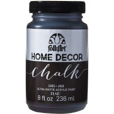 FolkArt Home Decor Chalk Paint 8 oz- Java