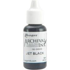 Ranger Archival Ink Refill- Jet Black