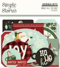 Jingle All the Way Die Cuts- Journal Bits