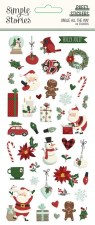 Jingle All the Way Stickers- Puffy Icons