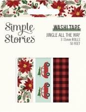 Jingle All the Way Washi Tape 3pk