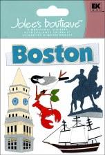 Jolee's Travel Dimensional Stickers- Boston