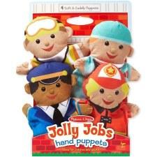 Melissa & Doug Hand Puppets- Jolly Helpers