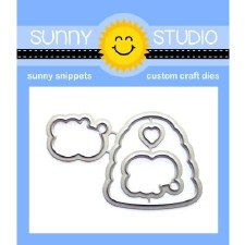 Sunny Studio Just Bee-Cause Craft Dies