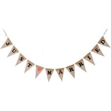 Banner Garland, 7ft- Just Married