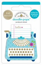 Hello Doodle-Pops Stickers- Just My Type