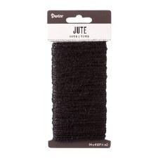Jute Cord, 30yds- Black