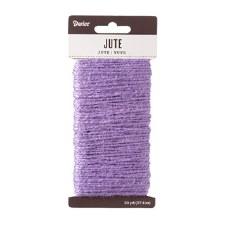 Jute Cord, 30yds- Lavender