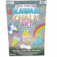 Create Your Own Kawaii Chalk Art Kit