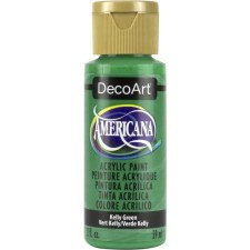 Americana Acrylic Paint, 2oz- Greens: Kelly Green