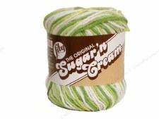 Sugar 'n Cream Yarn- #2713 Key Lime Pie Ombre