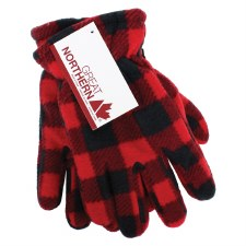 Great Northern Buffalo Check Kid's Gloves