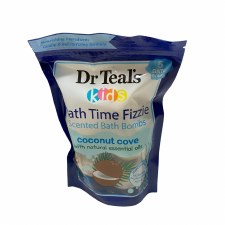 Dr. Teal's Kids Bath Time Fizzies 5ct. Coconut Cove Scented Bath Bombs