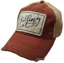 Women's Trucker Baseball Cap- Killing It