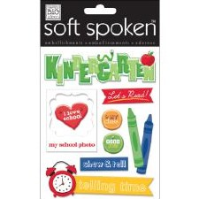 MAMBI Soft Spoken Stickers- School- Kindergarten Show & Tell
