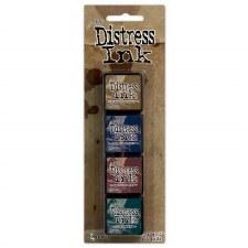 Tim Holtz Mini Distress Ink Pads, 4 pk- #12