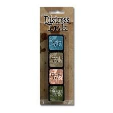 Tim Holtz Mini Distress Ink Pads, 4 pk- #9