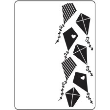 Darice Embossing Folder- Kites