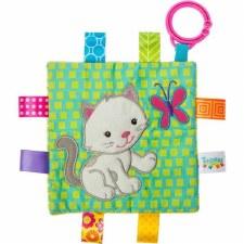 Taggies Crinkle Me Baby Toy- Kitten