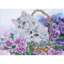 Diamond Facet Art Kit- Kitty Basket